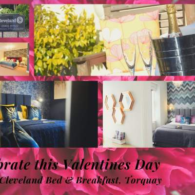 Celebrate Valentines Day 2020 at The Cleveland Bed & Breakfast, Torquay